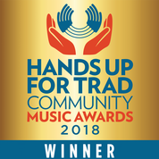Trad Community Music Project of the Year 2018 winner logo